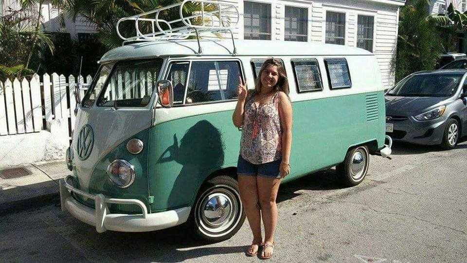 Kaleigh and VW